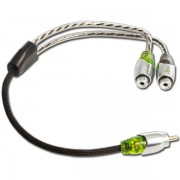 Cabo Y 2F/1M Technoise - SERIES 700 – 30cm – 4mm - Conector Metal – R