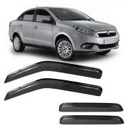 Calha de Chuva Acrílica Adesiva Fiat Grand Siena 2012 – 4 portas
