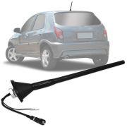 Antena Automotiva de Teto Amplificada Gm Celta Astra Corsa 2006 em diante 26 cm