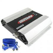 Módulo Amplificador Soundigital SD2000.1D 1 ohm + Brinde 1 Cabo RCA de 5m
