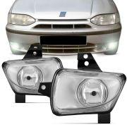 Farol de Milha Fiat Palio Weekend Siena 1996 a 2000 Strada 1998 a 2000 Lado Esquerdo