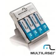 Carregador de Pilhas Multilaser CB054