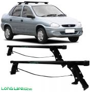 Rack Travessa Gm Corsa Hatch Sedan até 2003 Classic 4 Portas CS-4 60 Kg