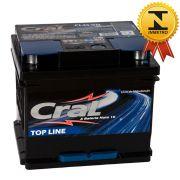 Bateria Automotiva Selada Cral Top Line 45A Polo Positivo Direito
