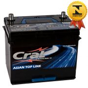 Bateria Automotiva Selada Cral Asian Top Line 80A Polo Positivo Direito