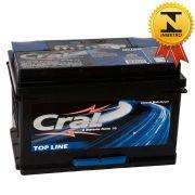 Bateria Automotiva Selada Cral Top Line 80A Polo Positivo Direito