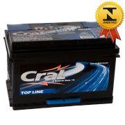 Bateria Automotiva Selada Cral Top Line 70A Polo Positivo Direito