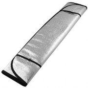 Protetor Solar Parasol Automotivo Parabrisa Frontal 150x60 cm Metalizado