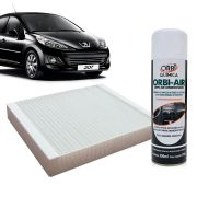 Filtro do Ar Condicionado Cabine Peugeot 206 207 Hoggar todos + Higienizador