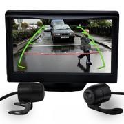 Kit camera com tela TechOne 4,3 Polegadas com 2 cameras