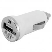 Adaptador Carregador Veicular Universal 12V USB Branco