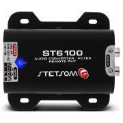 Adaptador Fio Conversor Remoto Auxiliar RCA Stetsom ST6100 Filtro Anti Ruído