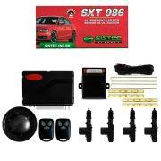 Alarme Automotivo Sistec STX986 + Trava Elétrica 4 Portas