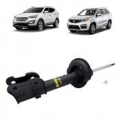 Amortecedor dianteiro Hyundai Santa Fe 2013 Kia 2013 Sorento 2014 a 2015 lado direito