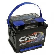 Bateria Automotiva Cral Top Line 45Ah Direita Livre de Manutenção