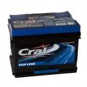 Bateria Automotiva Cral Top Line 50Ah Polo Positivo Direito Livre de Manutenção