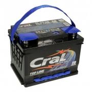 Bateria Automotiva Cral Top Line 60Ah Polo Positivo Direito Livre de Manutenção