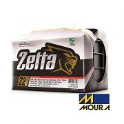 Bateria Automotiva Moura Zetta 45AH Polo Positivo Direito Selada Livre de Manutenção