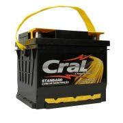 Bateria Automotiva Selada Cral Standard 60A Polo Positivo Esquerdo