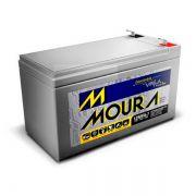 Bateria Moura Estacionaria VRLA 12V 7A para No-break Estabilizadores Alarmes Dispositivos Eletronicos