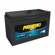 Bateria Pioneiro Tech Estacionaria T12-7F2SEG 7A para No-break Estabilizadores Alarmes Dispositivos Eletrônicos