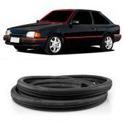 Borracha do Parabrisa Vidro Dianteiro Ford Escort Logus 1993 em Diante sem Ferragem