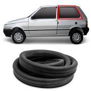 Borracha do Vidro Lateral Móvel Esquerdo Fiat Uno