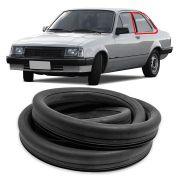 Borracha do Vidro Lateral Móvel Gm Chevette 1980 em diante