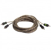 Cabo Rca Series 300 Pro 3Mts 4MM Conector Pvc Technoise