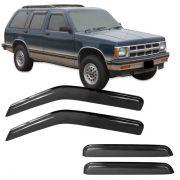 Calha de Chuva Acrílica Adesiva Chevrolet Blazer 95/11 ? 4 portas