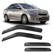 Calha de Chuva Acrílica Adesiva Chevrolet Cobalt 4 portas 2012
