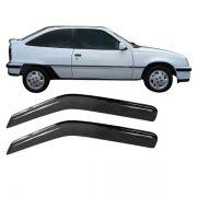 Calha de Chuva Acrilica Adesiva Chevrolet Kadett
