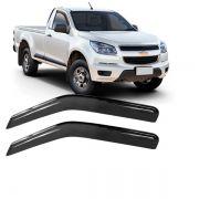 Calha de Chuva Acrílica Adesiva Chevrolet S10 Cabine Simples 2012 2 portas