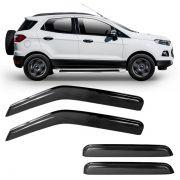 Calha de Chuva Acrilica Adesiva Ford Ecosport 2013 em diante 4 Portas