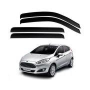Calha de Chuva Acrilica Adesiva Ford New Fiesta Hatch 2011 a 2017
