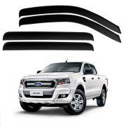 Calha de Chuva Acrílica Adesiva Ford Ranger 2013 a 2019