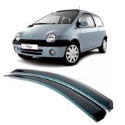Calha de Chuva Acrilica Adesiva Renault Twingo 1993 a 1996 2 Portas