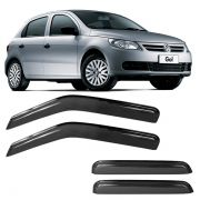Calha de Chuva Acrílica Adesiva Volkswagen Gol G5 G6 4 portas