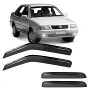 Calha de Chuva Acrílica Adesiva Volkswagen Santana 2000 ? 4 portas