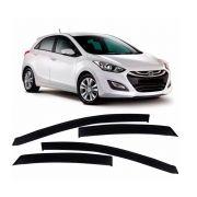 Calha De Chuva Acrilica Hyundai I30 2013 a 2015 4 Portas