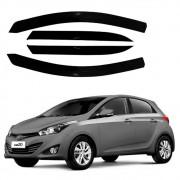 Calha de Chuva Acrilica Hyundai Novo HB20 Hatch 2020 4 Portas