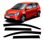 Calha de Chuva Acrílica Nissan Grand Livina 2009 a 2015 4 Portas