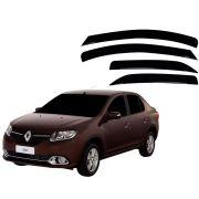 Calha De Chuva Renault Logan 2014 a 2018 4 Portas