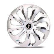 Calota Esportiva Velox Aro 13 Silver Chrome Encaixe Universal Unidade
