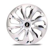 Calota Esportiva Velox Aro 15 Silver Chrome Encaixe Universal Unidade