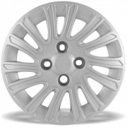 Calota Grid Aro 14 Prata Fiat Grand Siena 2012 e 2013 Unidade