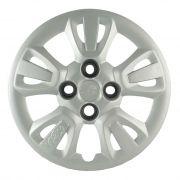 Calota Grid Aro 14 Prata Fiat Uno Way 2011 a 2012 Unidade