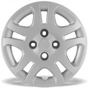 Calota Grid Aro 14 Prata Ford Fiesta Sedan 2011 a 2013 Unidade