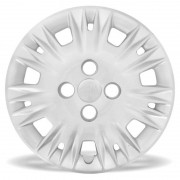 Calota Grid Aro 14 Prata Ford New Fiesta 2014 Unidade