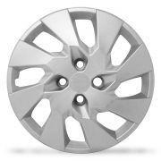Calota Grid Aro 14 Prata GM Onix Prisma 2014 Unidade